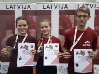 Rugājiete labo Latvijas rekordu